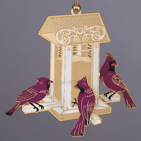 Bird Feeder Christmas Ornament