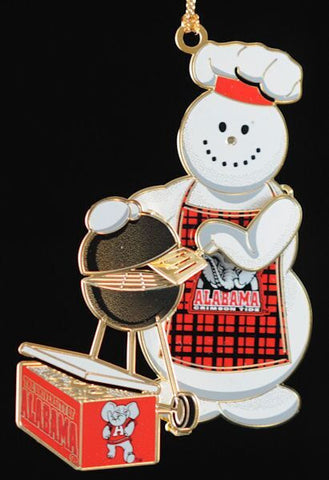 Alabama Tailgater Christmas Ornament