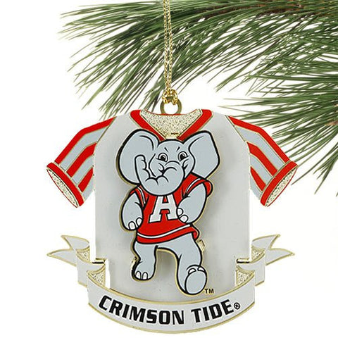 Alabama Crimson Tide Jersey Christmas Ornament