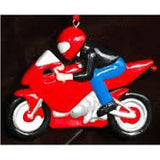 Sport Motocycle Christmas Ornament