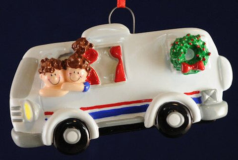 RV Christmas Ornament