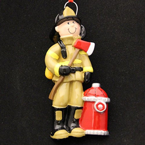 Firefighter Christmas Ornament
