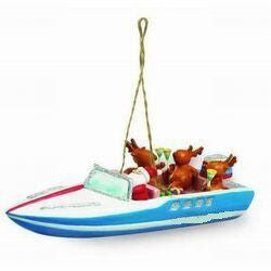 SS Party Boat Christmas Ornament