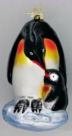 Penguin Love Christmas Ornament