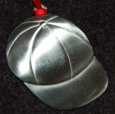 Baseball Cap Christmas Ornament