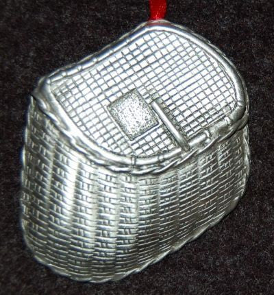 Fishing Basket Christmas Ornament