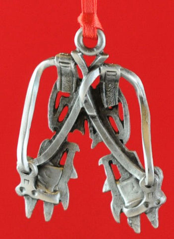 Crampons Christmas Ornament