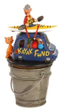 Kayak Fund Money Bucket
