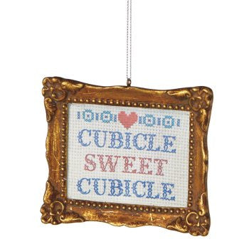 Cubical Sweet Cubical Christmas Ornament