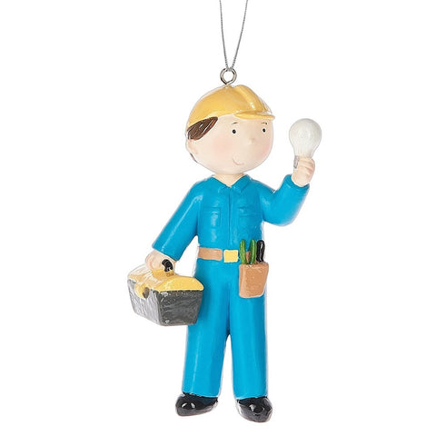 Electrician Christmas Ornament