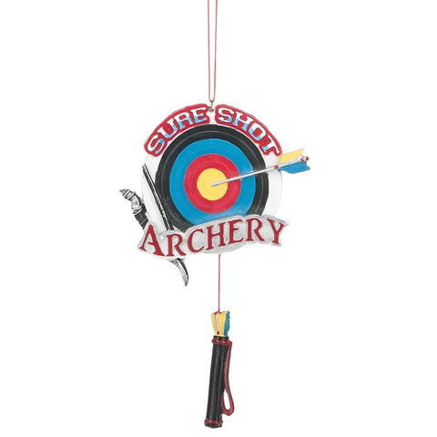 """Sure Shot Archery"" Ornament"