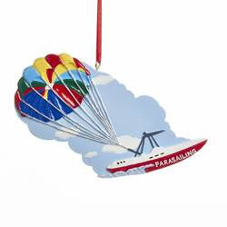 Parasailing Christmas Ornament