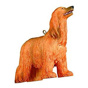 Afghan Hound Christmas Ornaments