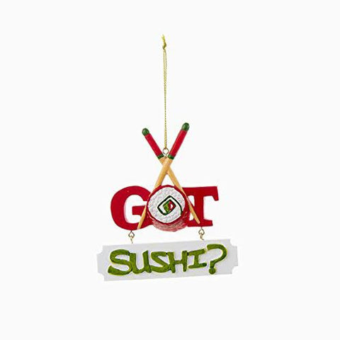 """I Got Sushi"" Christmas Ornament"