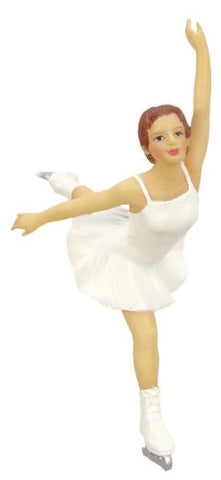 Gliding Skater Christmas Ornament