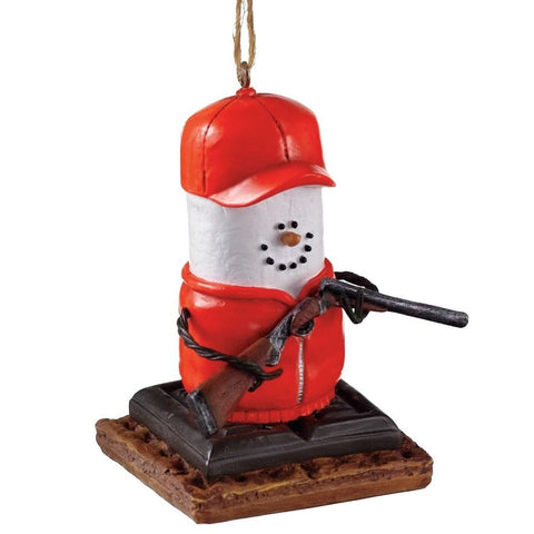 S'mores Hunter Christmas Ornament