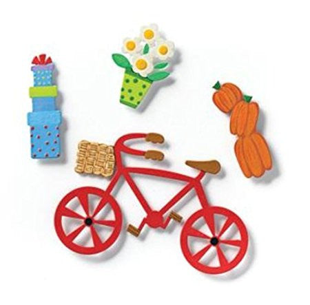 Embellish Your Story Bike and Accessory Magnets - Set of 4