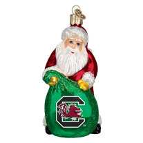 Old World Christmas University of South Carolina Santa Ornament