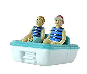 Paddle Boat Christmas Ornament