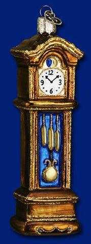 Grandfather Clock Christmas Ornament
