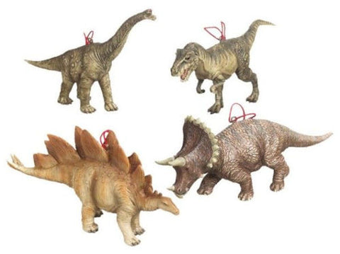 Dinosaur Christmas Ornaments