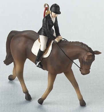 English Riding Dressage Christmas Ornament