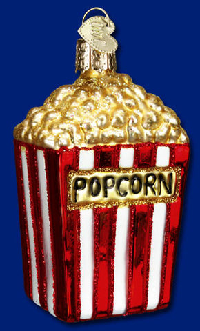 Popcorn Christmas Ornament