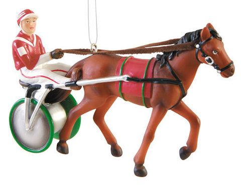 Harness Racing Christmas Ornament