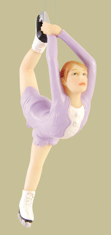Figure Skater Christmas Ornament