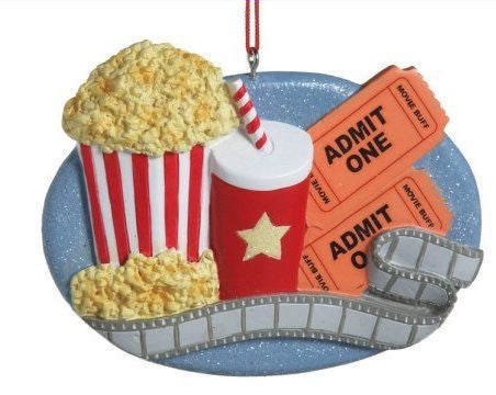 Movie Buff Christmas Ornament