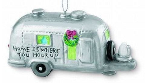 Home is Where You Hook Up Christmas Ornament
