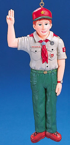 Boy Scout Christmas Ornament