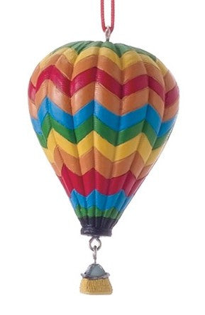 Hot Air Baloon Christma Ornament