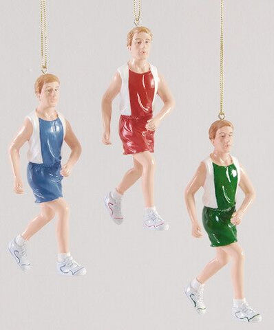 Runner Christmas Ornaments (Set of 3)