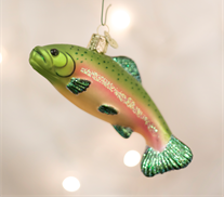 Rainbow Trout Ornament