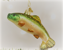 Brook Trout Ornament