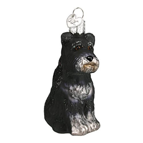 Black Schnauzer Ornament