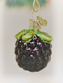 Old World Christmas Blackberry Glass Blownn Ornament Blackberry