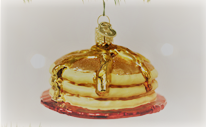 Old World Christmas Short Stack Glass Blown Ornament