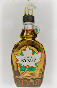Old World Christmas Maple Syrup, 4.25""