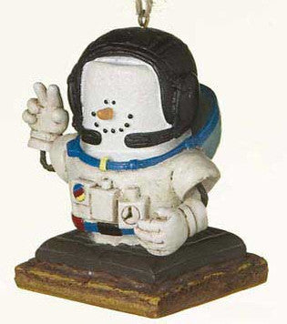 Smore Astronaut Christmas Ornament