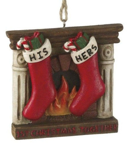 First Christmas Together Christmas Ornament