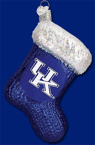 Kentucky Stocking Christmas Ornament