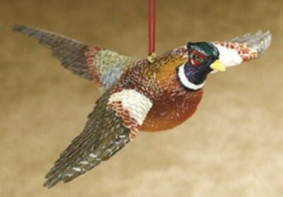 Pheasant Christmas Ornament
