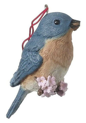 Blue Bird Christmas Ornament