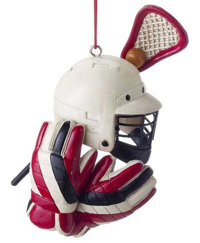 Lacrosse Gear Christmas Ornament
