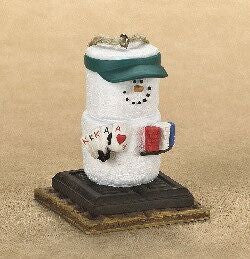 Smore Poker Player Christmas Ornament