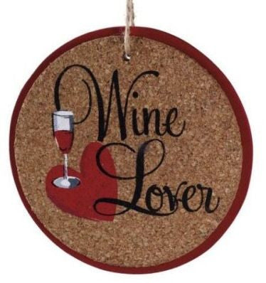 Wine Lover Christmas Ornament