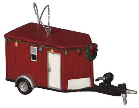 Ice Fishing House Christmas Ornament