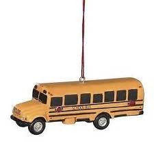 School Bus Christmas Ornament